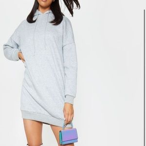 PrettyLittleThing Oversized Hoodie Dress